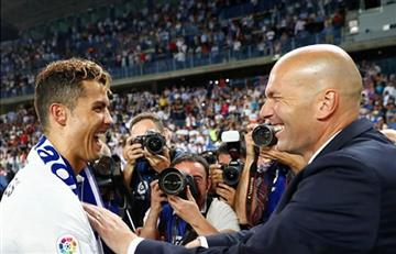 Zidane: ¡Así despiden los jugadores a su técnico!