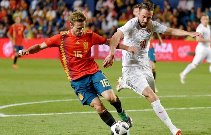 Rusia 2018: España empató ante Suiza y se mantiene invicta