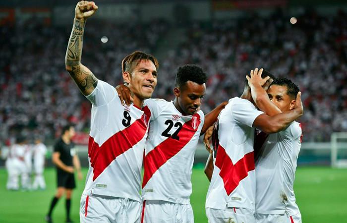 Perú golea a Arabia Saudita en Suiza