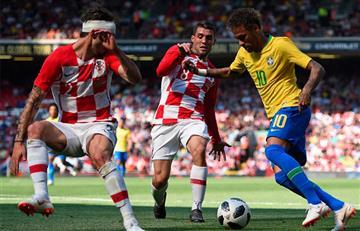 Rusia 2018: Brasil vence a Croacia con golazo de Neymar
