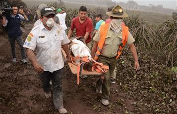 Bolivia expresa su solidaridad con Guatemala tras erupción