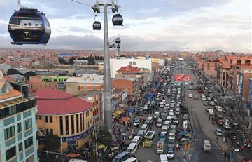 El Alto vive una jornada de bloqueos contra el Gobierno
