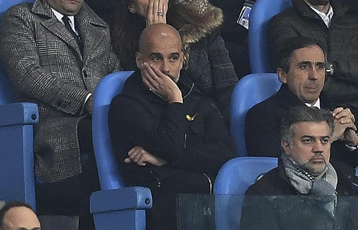Guardiola sancionado por la UEFA