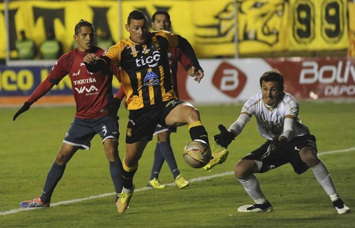 El torneo Apertura boliviano se decide en un tercer partido de desempate
