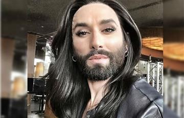 Conchita Wurst sorprendió con radical cambio de look