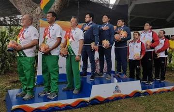 Bolivia consigue cuatro medallas en atletismo durante la última jornada de los Juegos