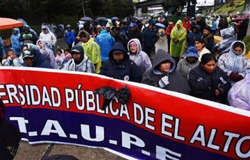 Gobierno y UPEA abren diálogo tras semanas de protestas