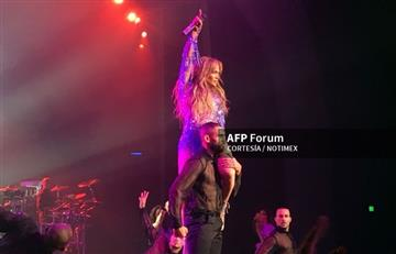 Jennifer López celebró su concierto número 100 con un impresionante baile