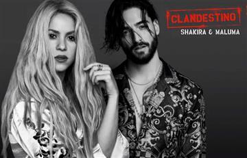 Shakira y Maluma estrenan 'Clandestino', una canción llena de sensualidad