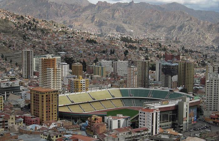 Foto: EFE. La Paz dará el Mundial en espacios públicos