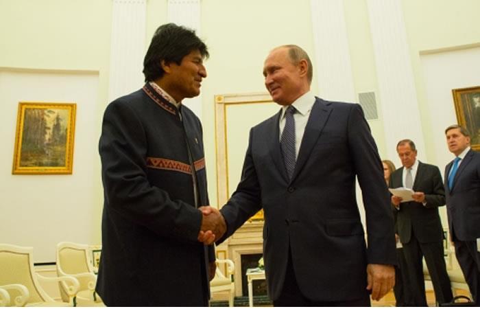 Rusia se interesa en el tren bioceánico. Foto: ABI