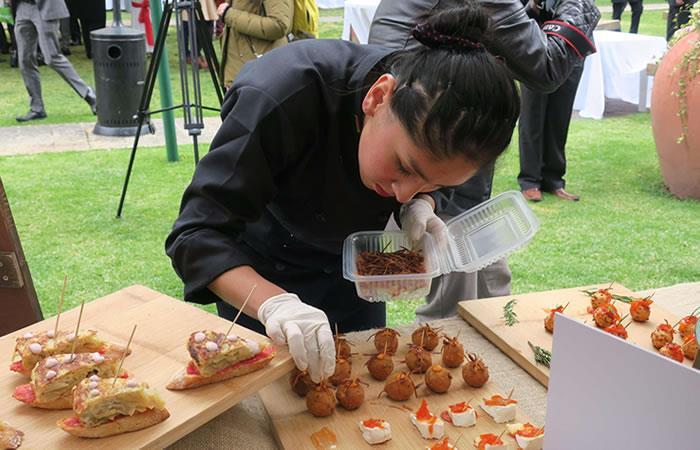 Bolivia y España fusionan su cocina. Foto: EFE