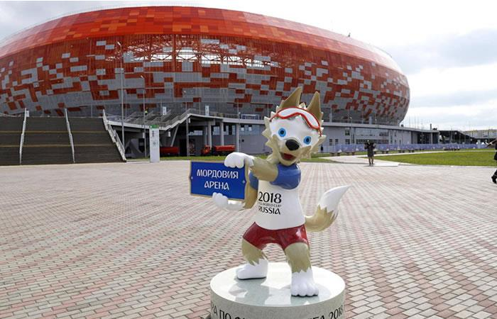 Foto: EFE. Inauguración Mundial Rusia 2018