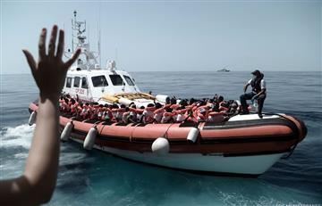 España no descarta expulsar a algunos de los migrantes del