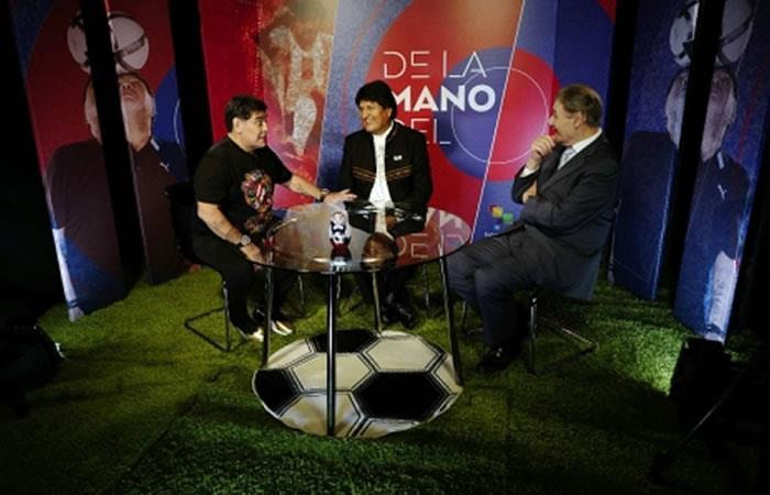 Foto: ABI. Evo Morales dio estas importantes declaraciones