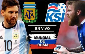 Argentina vs. Islandia: Transmisión EN VIVO online