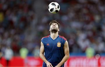 Piqué confirma que se retirará de la selección española tras el Mundial