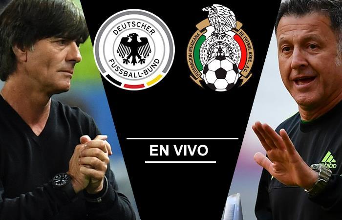 Alemania vs. México: Transmisión EN VIVO online