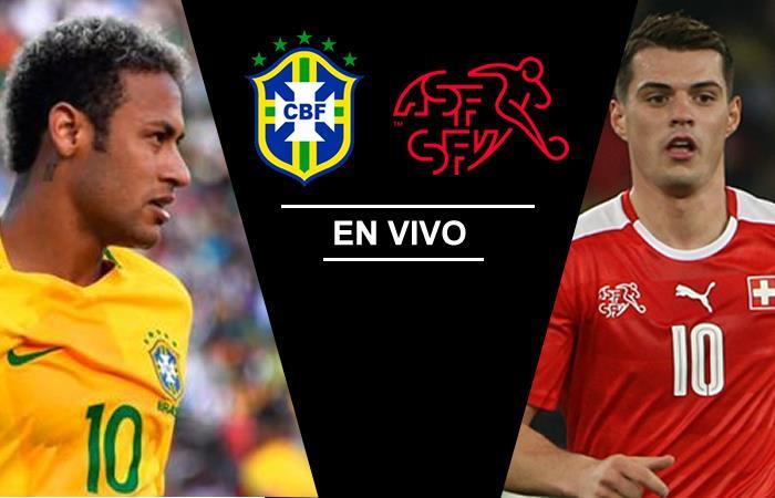 Brasil vs. Suiza: Transmisión EN VIVO online