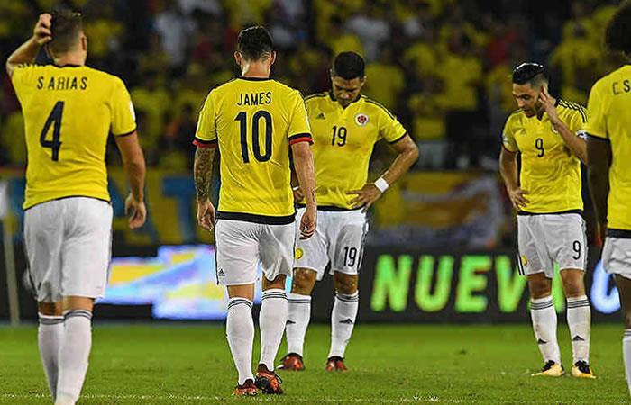 Colombia perdió ante Japón 2-1. Foto: AFP