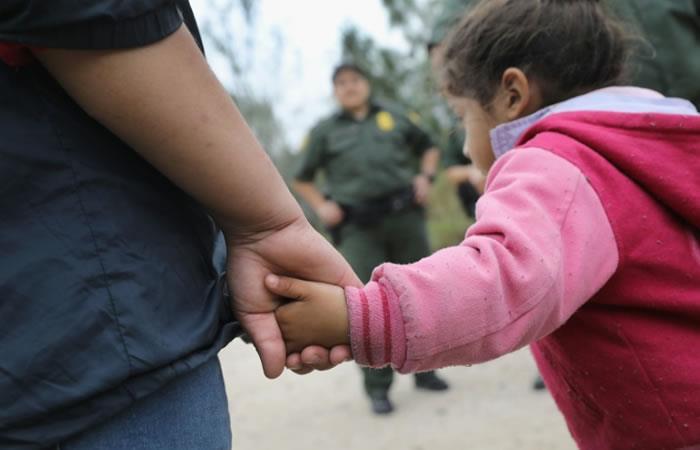 La ONU ve 'inadmisible' separar a niños de sus padres en la frontera EEUU-México