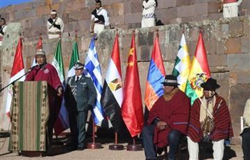 Evo Morales presenta II Foro de Civilizaciones Antiguas y este es su llamado