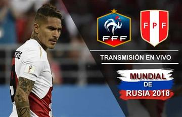 Francia vs. Perú: Transmisión EN VIVO online