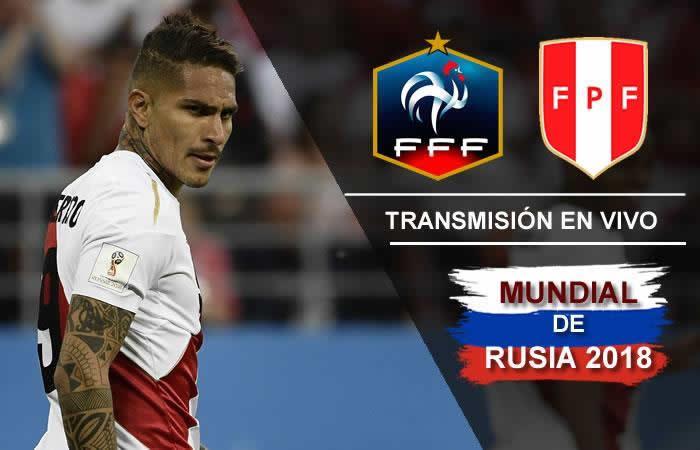 Francia se enfrenta ante Perú en el Mundial de Rusia 2018. Foto: Colombia.com