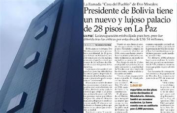 Bolivia pide a periódico chileno retractarse de falacias publicadas