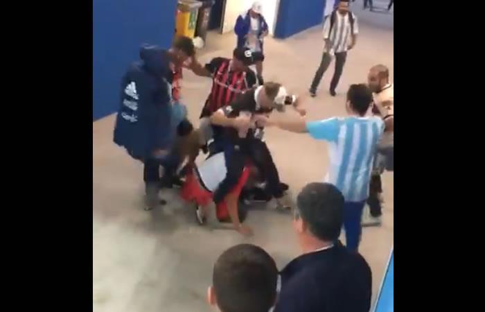 Piden deportación de los argentinos que agredieron a los hinchas croatas