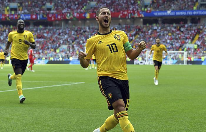 Bélgica ganó, goleó y destrozó a Túnez en Rusia 2018