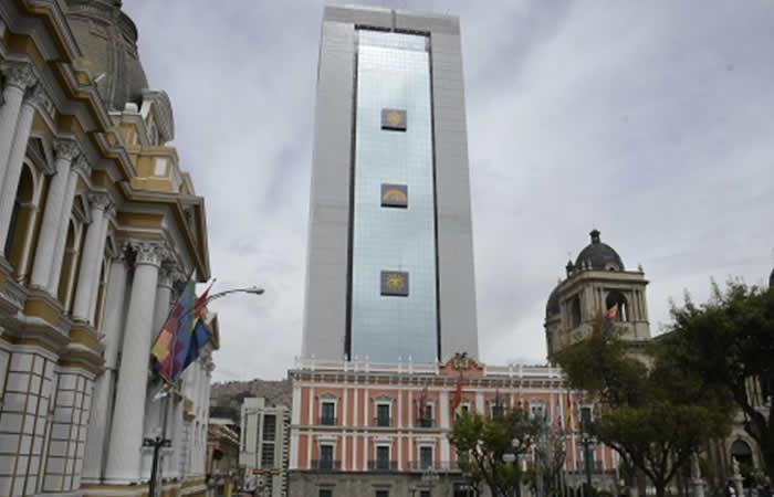 La Casa Grande del Pueblo Bolivia. Foto: ABI