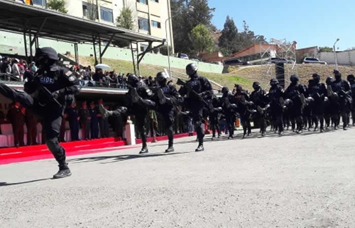 Policía celebrará 192 años de creación con ejercicio de parada en Potosí