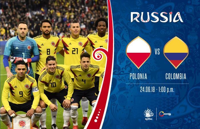 Polonia vs. Colombia: Transmisión EN VIVO online