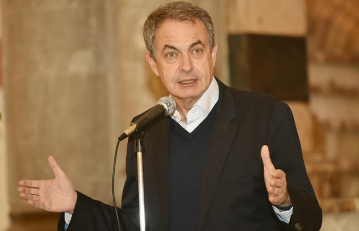 Rodríguez Zapatero, expresidente de España 2004 - 2011. Foto: ABI