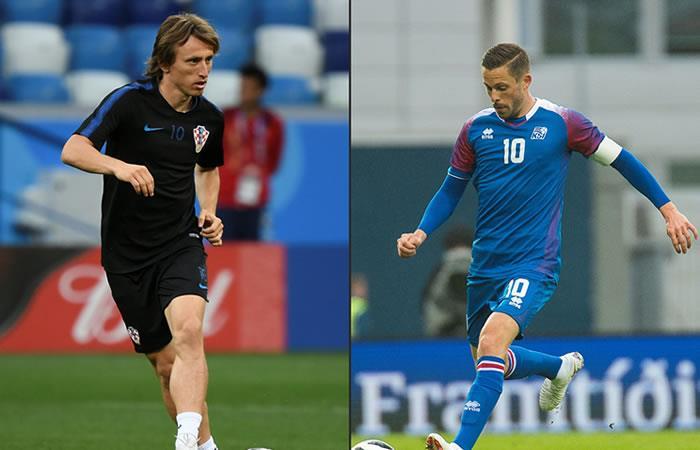 Islandia vs. Croacia: Día, hora, estadio y canal por TV del Mundial de Rusia 2018