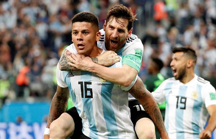 Argentina agonizó, pero salvó la clasificación al último minuto