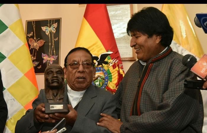 Evo Morales envió conmovedor mensaje. Foto: ABI