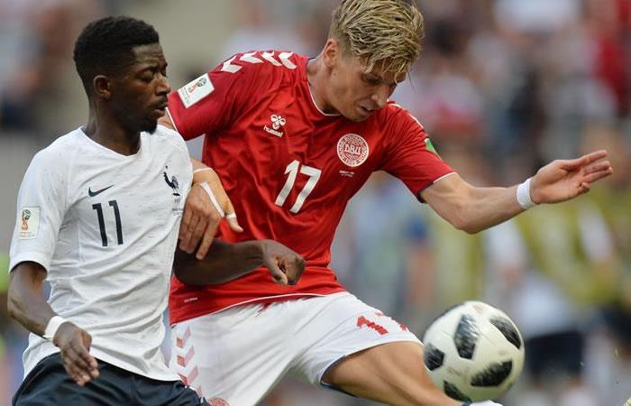 Francia y Dinamarca se clasifican a los octavos de final
