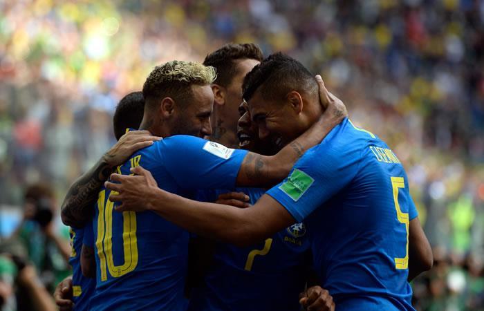 Brasil y Serbia se enfrentan en el último partido del grupo E. Foto: AFP