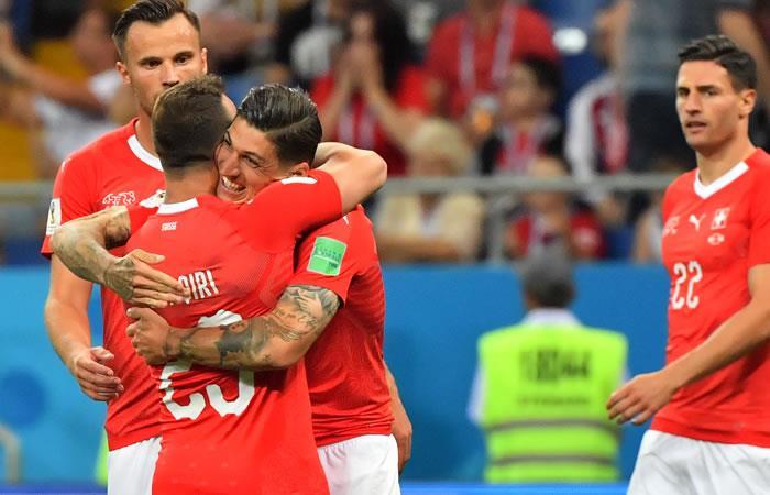 Suiza y Costa Rica se enfrentan en el Mundial de Rusia 2018. Foto: AFP