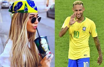 Tras primer gol de Neymar en Rusia su hermana se dislocó el hombro