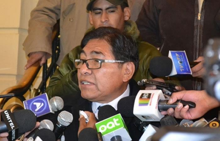 Rector de la UPEA se reúne con el Gobierno. Foto: ABI