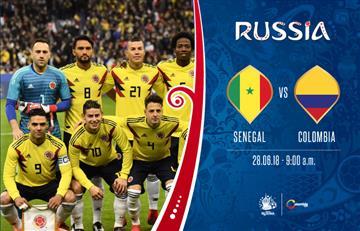 Colombia vs Senegal: Transmisión EN VIVO online