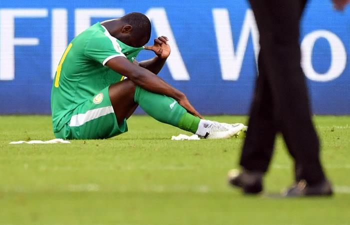 Senegal es el primer equipo eliminado por las tarjetas amarillas. Foto: AFP