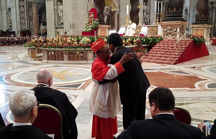 Ticona, el nuevo cardenal de Bolivia. Foto: ABI
