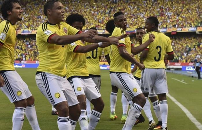 Yerry Mina mete a Colombia de primera en los octavos de final