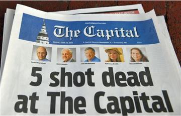 """Atacante de diario en EE.UU. quería """"matar al mayor número de personas posible"""""""