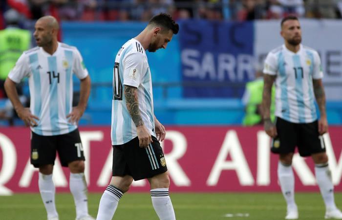 Francia se impuso sobre Argentina y lo deja por fuera del Mundial