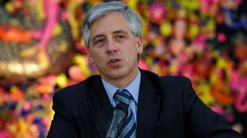Vicepresidente inaugura obras de construcción del hospital en Sucre